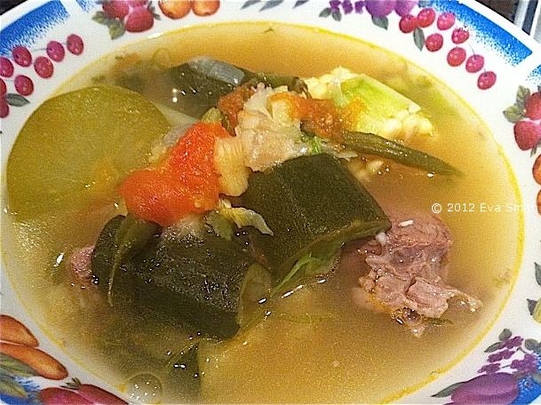 Beef Soup with Chayote | Caldo de Res con Chayote