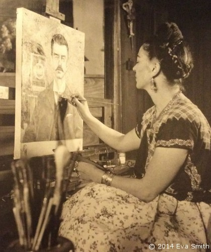"""My painting carries with it the message of pain."" - Frida Kahlo"