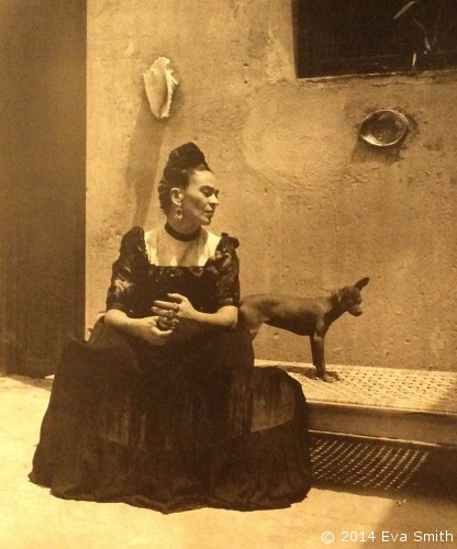 "Frida Kahlo - I wish I could do whatever I liked behind the curtain of ""madness"". Then: I'd arrange flowers, all day long, I'd paint; pain, love and tenderness, I would laugh as much as I feel like at the stupidity of others, and they would all say: ""Poor thing, she's crazy!"" (Above all I would laugh at my own stupidity.) I would build my world which while I lived, would be in agreement with all the worlds. The day, or the hour, or the minute that I lived would be mine and everyone else's - my madness wouldn't be an escape from ""reality"""