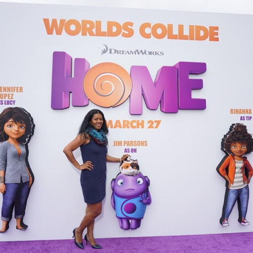 We Recently Landed On The Purple Carpet For Movie Premier Of